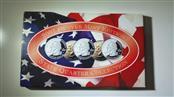 2001 Denver Mint State Quarter Collection Uncirc NY, NC, RI, VT, KY